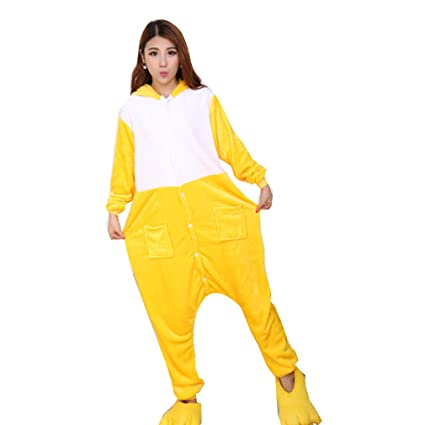 WTUS Pijamas Adulto Anime Cosplay de Halloween Traje Outfit Pikachu