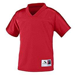 Augusta Sportswear Toddler Stadium Replica Jersey 2/3T Red
