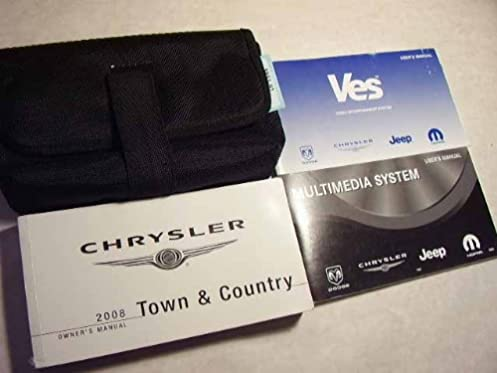 2008 chrysler town and country owners manual chrysler amazon com rh amazon com 2005 Town and Country 2005 Town and Country