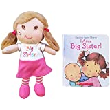I Am a Big Sister Doll and Book Bundle (Sister / Church)