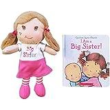 I Am a Big Sister Doll and Book Bundle