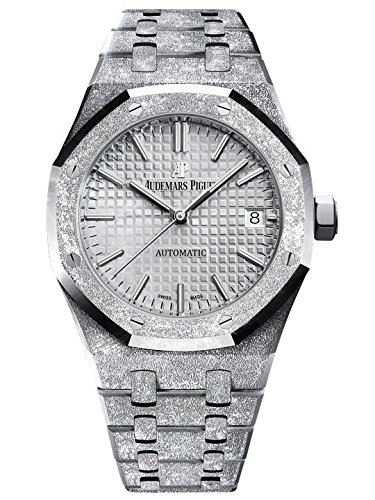 Audemars Piguet Ladies Royal Oak 33mm Frosted White Gold 67653BC.GG.1263BC.01