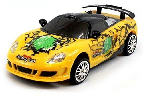 Saffire Remote Control Porsche Carrera Gt Graffiti Drift Car with Spare Tires