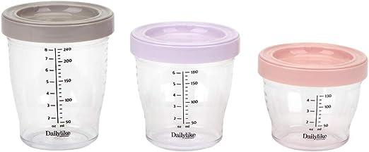 Babymoov Set of 3 Multicolour Cups BPA-free