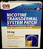 CVS Nicotine Transdermal System 7 Patches Step 2, 14 mg Habitrol Take Control System