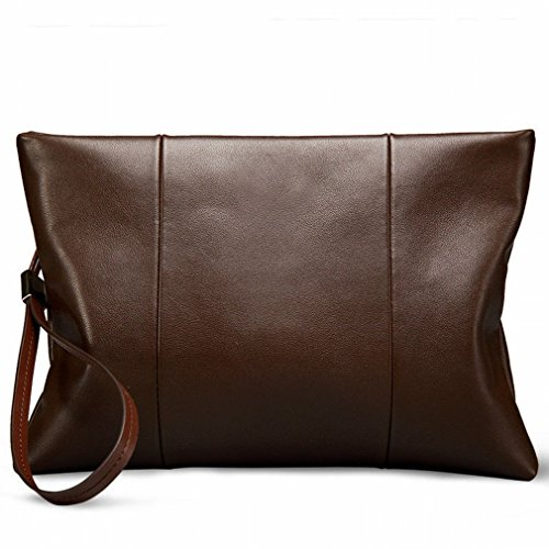 Casual 's Bag Large Capacity Retro Fashion Men Black Bag Brown Zipple xg7qg0n