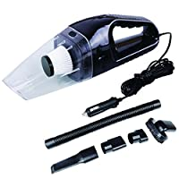 Maryger 120W12V High Power Dry Wet Car Vacuum Cleaner for Car Home Office with 4.5m Cable Black