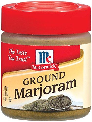 McCormick Ground Marjoram .65OZ (Pack of 18)