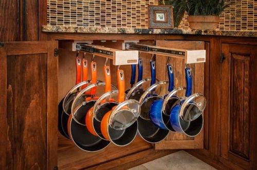 Double Glideware Kitchen Cabinet Organizers by WEN