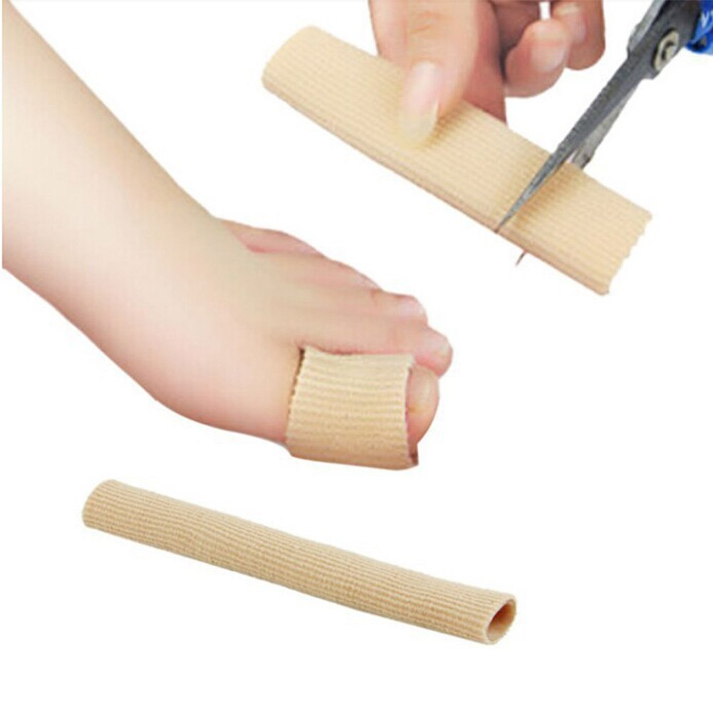 Cuttable Toe Tubes,Toe Sleeve Protectors Relief Toe Pressure Pain,Corn and Calluses Remover With Silicone Gel by cyclamen9 (Image #1)