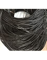 500g Synthetic Rattan Weaving Material, 2.5mm ~60M Solid Round Vine Coffee Gradient Flat Plastic Rattan for Knit Repair 。 (Color : J, Size : 1pcs)