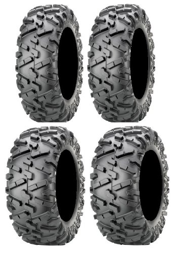 Full set of Maxxis BigHorn 2.0 Radial 26x9-14 and 26x11-14 ATV Tires ()