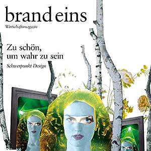 brand eins audio: Design Audiomagazin