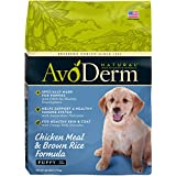 AvoDerm Natural Dry Puppy Food, Chicken Meal & Brown Rice Formula, 26-Pound