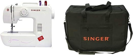 Singer Start 1306 - Máquina de coser mecánica, 6 puntadas, color ...