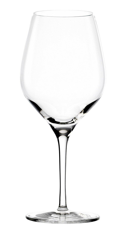 Verres à vin rouge Exquisit de Stölzle Lausitz, 480 ml, lot de 6, lavables au lave-vaisselle : des verres à vin rouge universels pour une pluralité de cépages, finition haut de gamme Stölzle_Lausitz 147-00-01