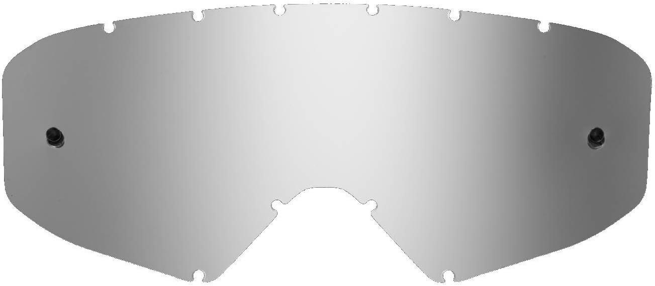 SeeCle 41V206 lenti di ricambio per maschere argento specchiato compatibile con maschera Ethen 05