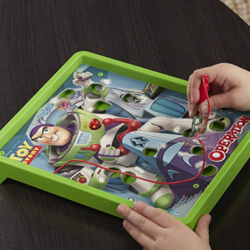Hasbro Gaming Operation: Disney/Pixar Toy Story Buzz Lightyear Board Game for Kids Ages 6 & Up