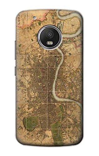 Innovedesire Vintage Map of London Funda Carcasa Case para ...