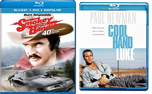Classic Rebel/ Outlaw Collection - Smokey and the Bandit (40th Anniversary Edition) & Cool Hand Luke Blu-Ray 2 pack (In The Heat Of The Night Smokie)