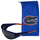 Siskiyou NCAA Florida Gators Adult Sunglass and Bag Set, Blue