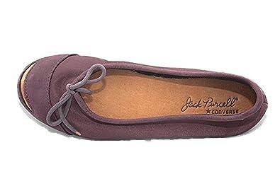 half off 7ffd8 db29b Converse Jack Purcell Women s Dance Slip Ballerina Skimmer 5V866 5V867  5V868 (10 B(M