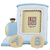 MASSJOY Cartoon Train Alphabet Baby Photo Frame, Creative Children Photo Frame Baby Birthday Gifts.