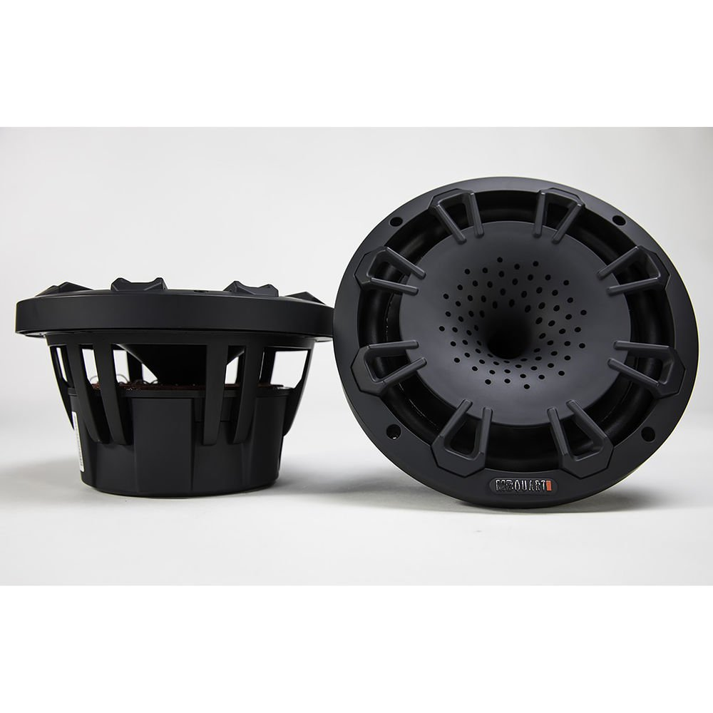 MB Quart NH1-120B Two Way 8 inch Compression Horn Speaker with Poly Cone, Packaged in Pairs. (Black) by MB Quart