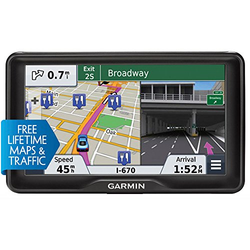 REFURBISHED 5 In. GPS with Lifetime Maps and Traffic Updates by Garmin