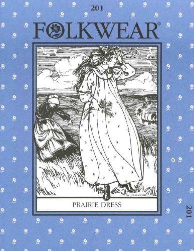 Patterns - Folkwear #201 Prairie Dress by Vogue Fabrics