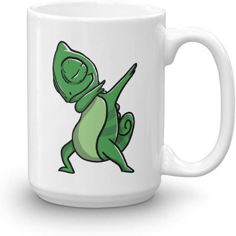 Amazon Com Chameleon Dabbing Funny Ceramic Coffee Mug Cute Reptile Pet Gift Kitchen Dining,Sun Conure For Sale
