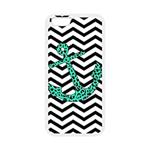 "Anchor Chevron Discount Personalized Cell Phone Case for iPhone6 Plus 5.5"", Anchor Chevron iPhone6 Plus 5.5 hjbrhga1544"