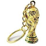 Ouken 2018 Russia World Cup Keychain Football Mascot Souvenir Zabivaka Soccer Key Ring Golden 1Pc