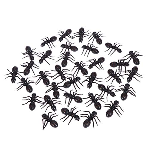 SUPVOX 100PCS Halloween Ant Party Trick Toys for Special Decoration