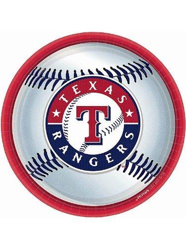 Texas Rangers Party Plates - 18