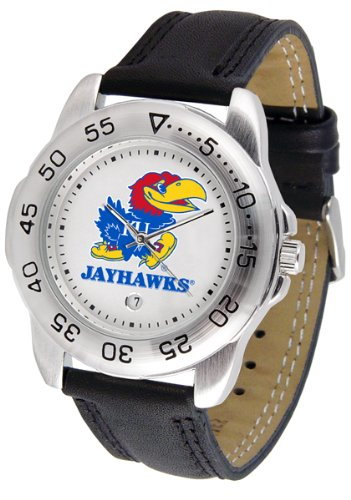 Kansas Jayhawks Gameday Sport Men's Watch by Suntime