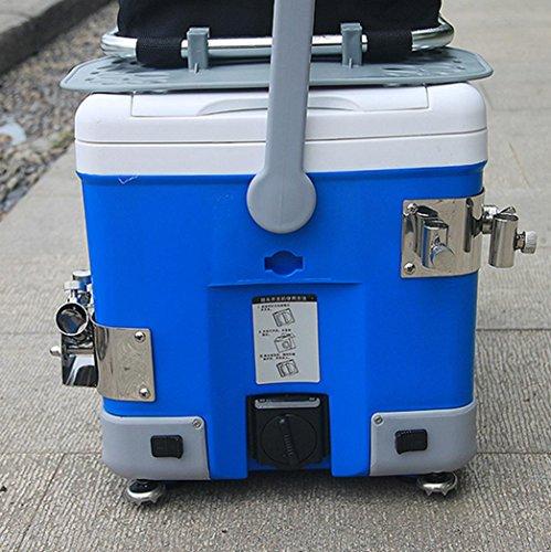 DM&Y 2017 doppio panino casella di pesca superhard multifunzione con zampe posteriori ingranaggi di sollevamento Parts Supplies . green