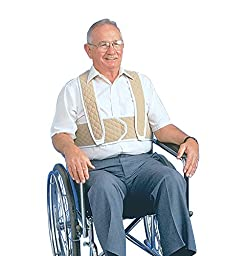 Posey Torso Support For Wheelchair, Large