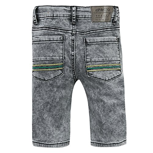 3pants Grey Bermuda antracite grigio Boy rw4qr0PxF