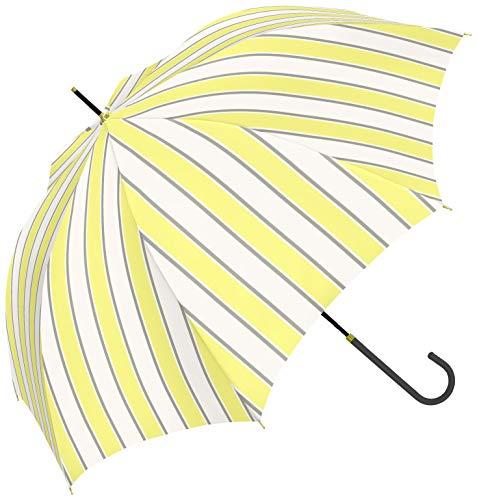 a.s.s.a 우산 레이디스 경량 길이 산우산 58cm 스트라이프 귀여운 심플 글래스 화이버(fiber) 강화골(RL199)