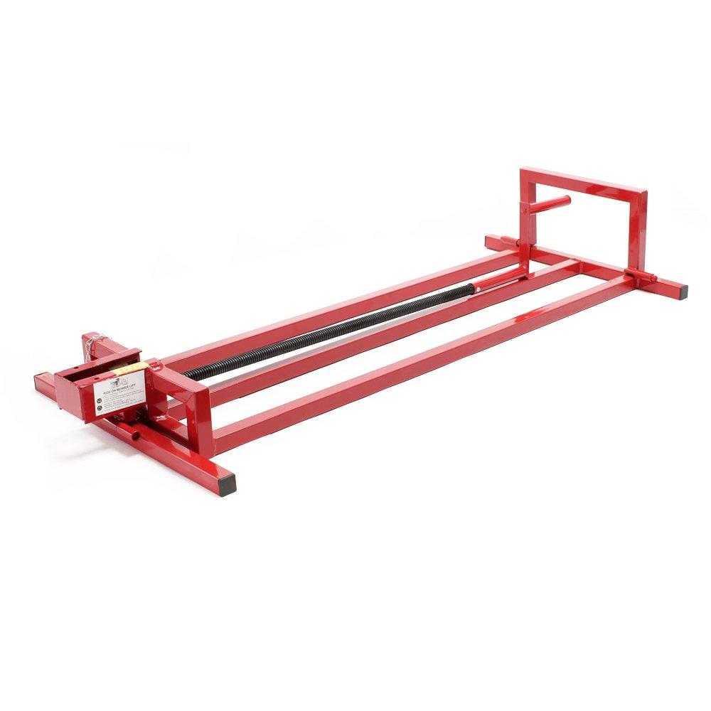 Dispositivo de elevación de la segadora a bordo, elevador de tractores de césped 115x50x20cm 250kg: Amazon.es: Bricolaje y herramientas