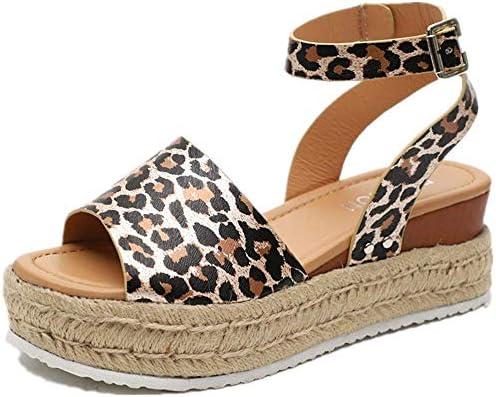 085ba98af1a4d Women Wedge Sandals Casual Espadrilles Platform Sandals Studded ...