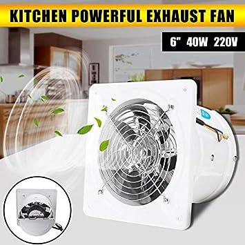 CERU Mini Ventilador Conducto de ventilación Booster Fan Extractor ...