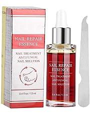12 ml Nail Care Solution Set, Natural Powerful Nail Repair Essence, Nail Care Solution with Nail File, Nail Care Tool, Anti-fungus Nail Treatment Effective Repair Solution