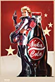 Fallout 4- Nuka Cola Pin Up Poster 24 x 36in