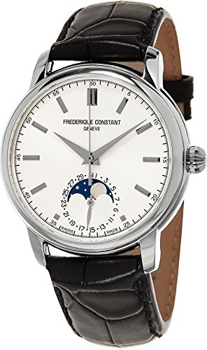Frederique Constant Men's FC715S4H6 Classics Analog Display Swiss Automatic Black Watch