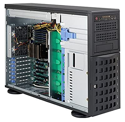 Supermicro 800W 4U Tower/Rackmount Server Chassis CSE-745TQ-R800B