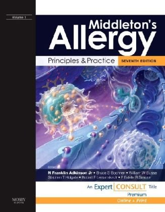 Middleton's Allergy: Principles and Practice: Expert Consult Premium Edition: Enhanced Online Features and Print, 2-Volu
