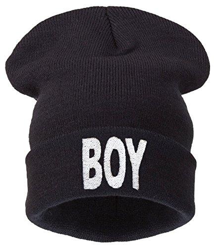 Universal 4sold Boys Black Hat Boys blanco Negro Tama o vz77Yqwa