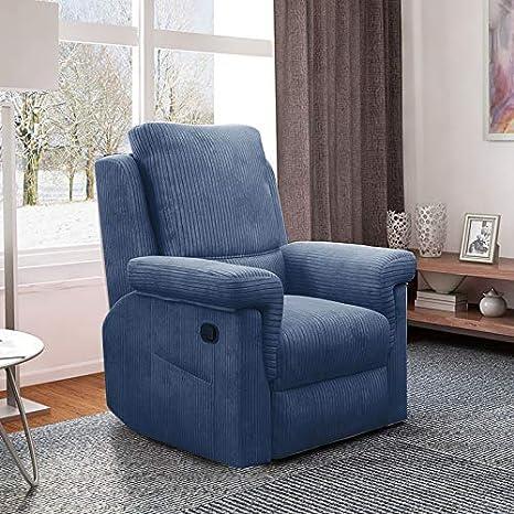 Amazon.com: Silla reclinable Sofá para salón individual de ...